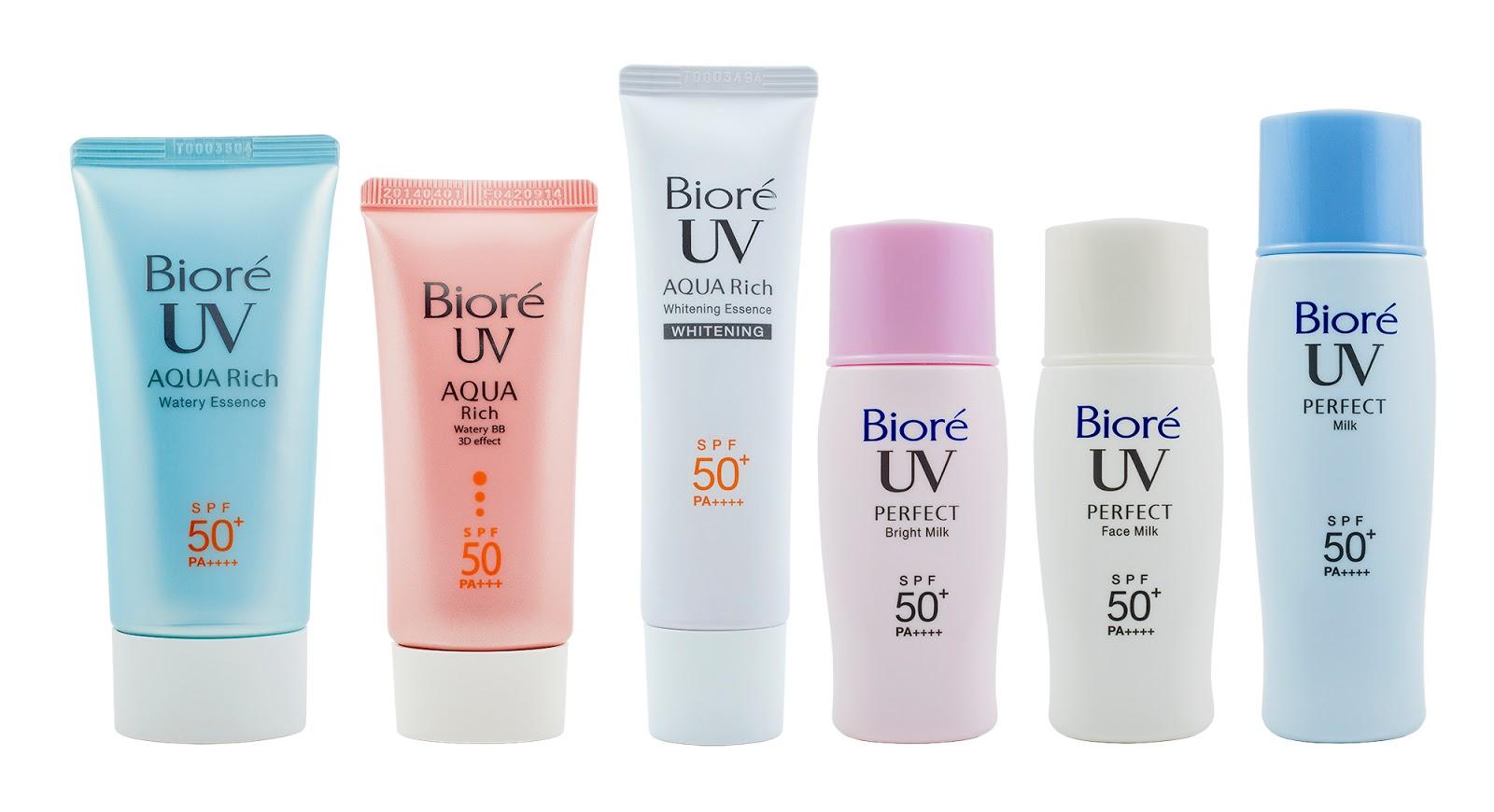 Lucky Citrine: Biore UV Aqua Rich Whitening Essence
