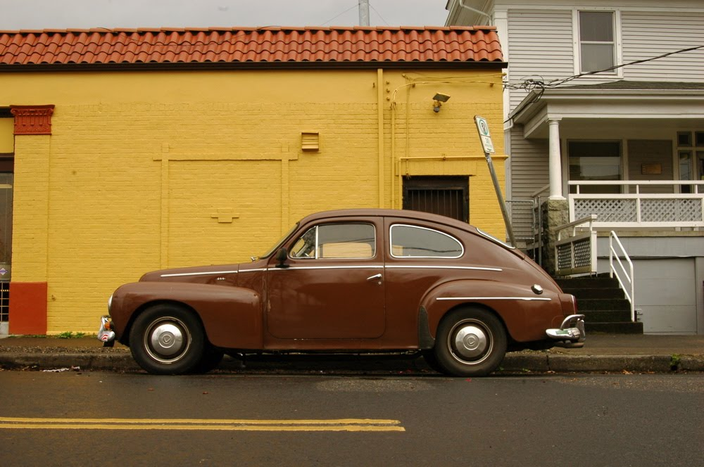 OLD PARKED CARS.: 1963 Volvo PV544 Sport.