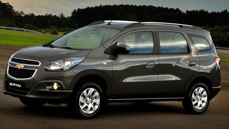 novo Chevrolet Spin 2014 dianteira