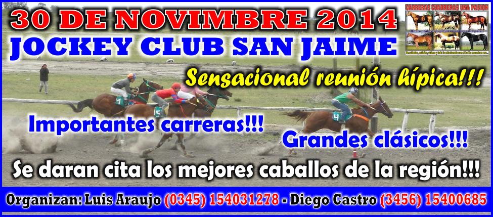 SAN JAIME - REUNION 30.11.2014