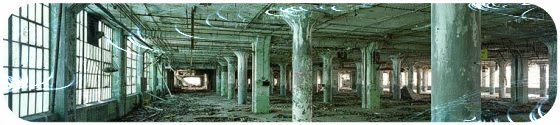 The ruins of detroit, photographies