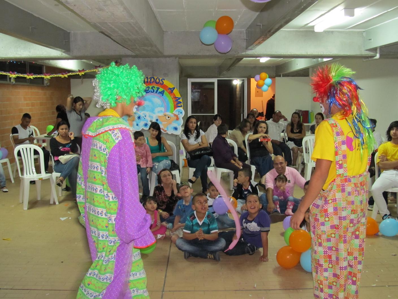 Divertido Show de Payasos para fiestas infantiles de cumpleaños