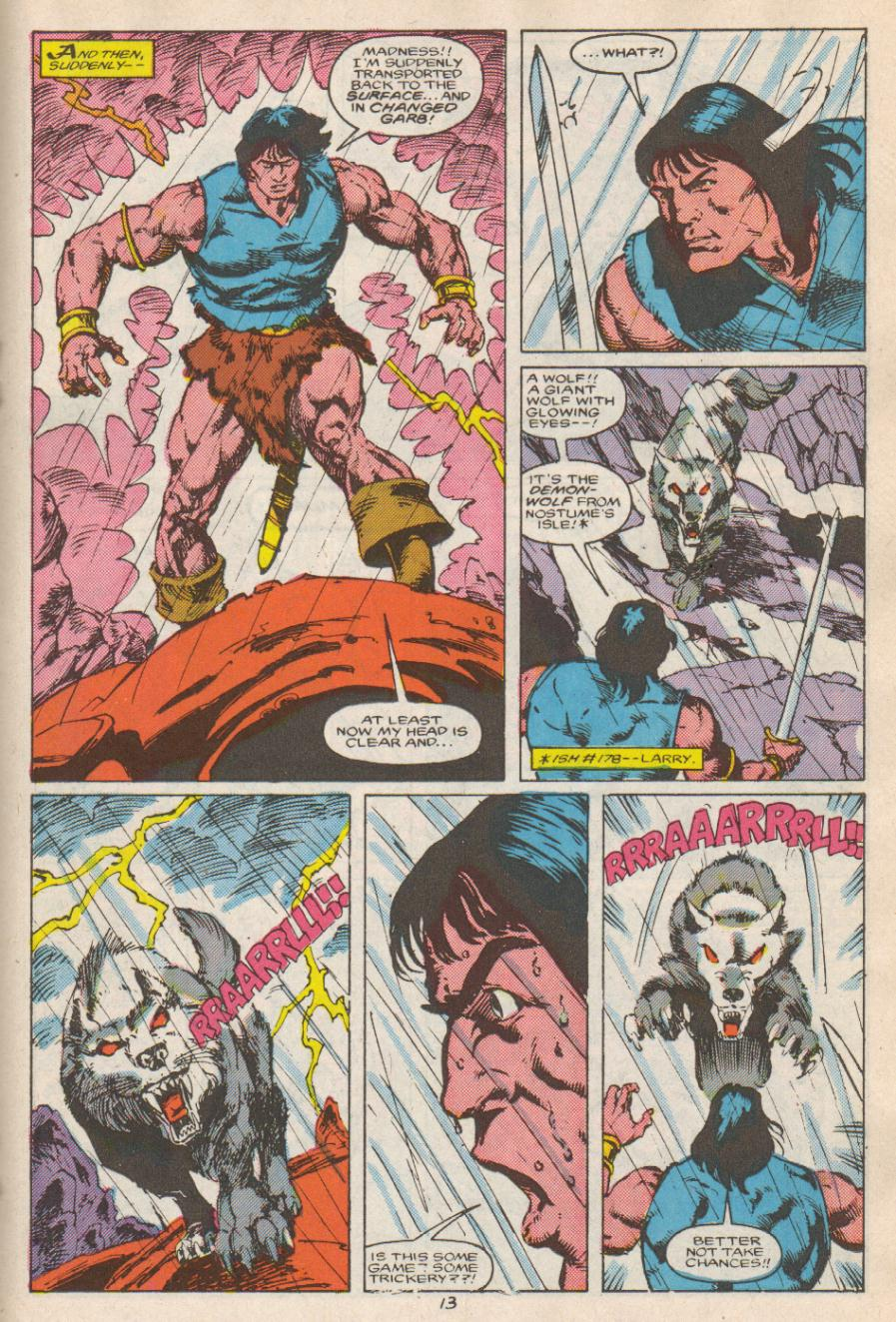 Conan the Barbarian (1970) Issue #192 #204 - English 14