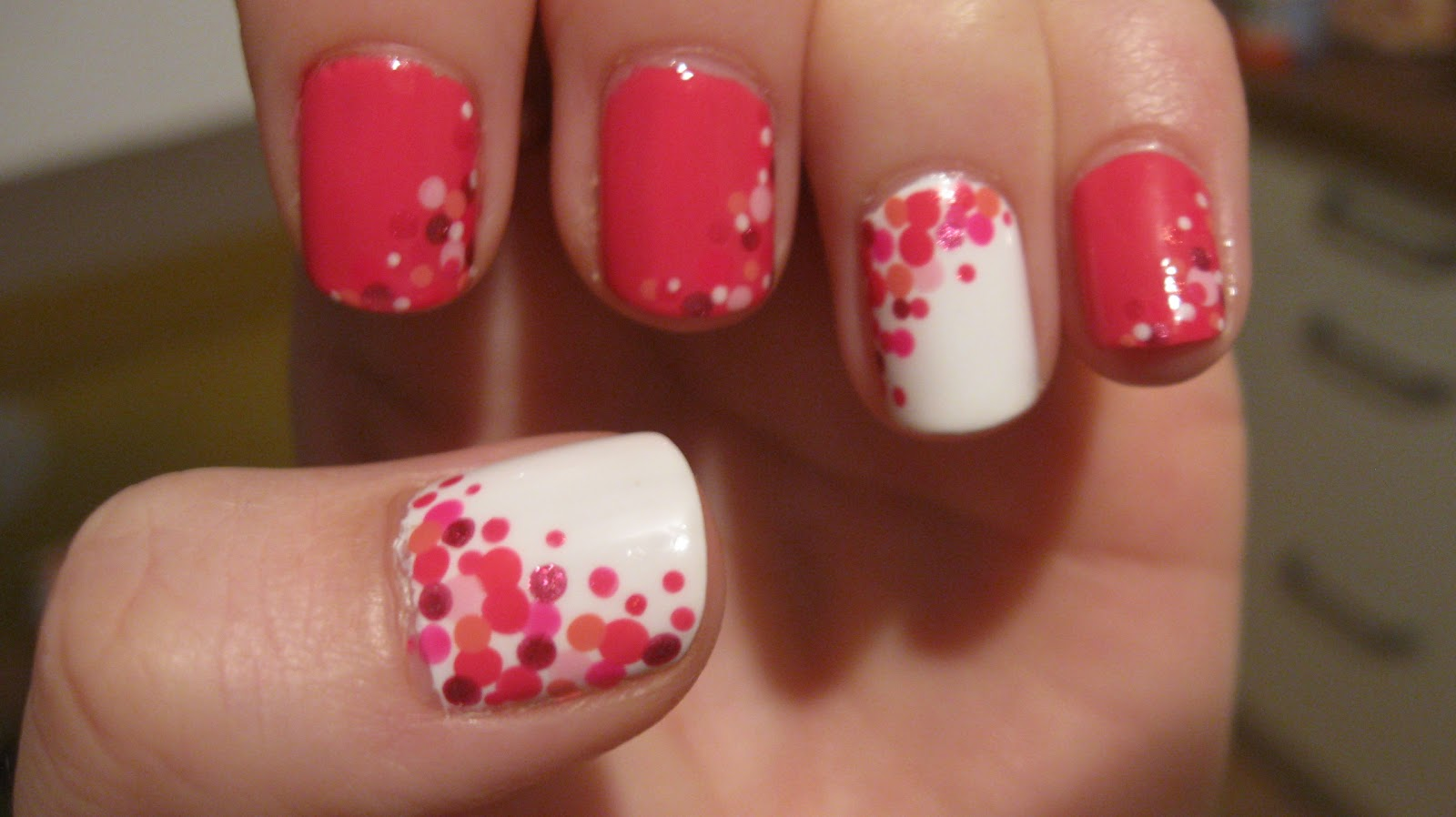 Fanning The Fumes A Nail Art Blog Pcfc Pink Polka Dots 221