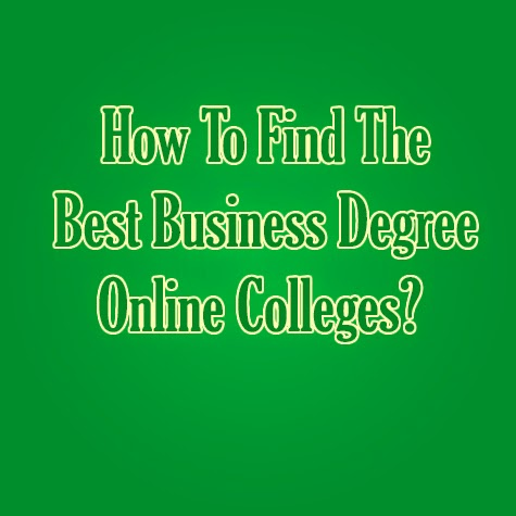 business degrees online