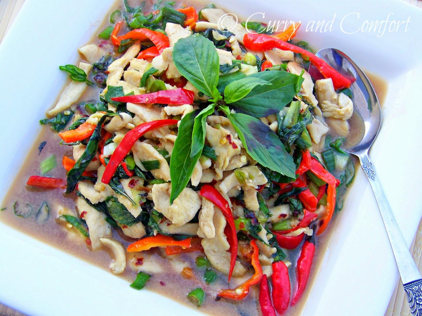 Kitchen Simmer: Thai Basil Chicken Stir Fry