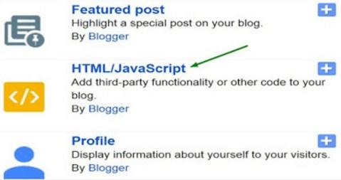 add facbook like widget in your blog