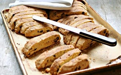 ... Couple: Passover Chocolate Chip Mandel Bread (Jewish Biscotti Cookies