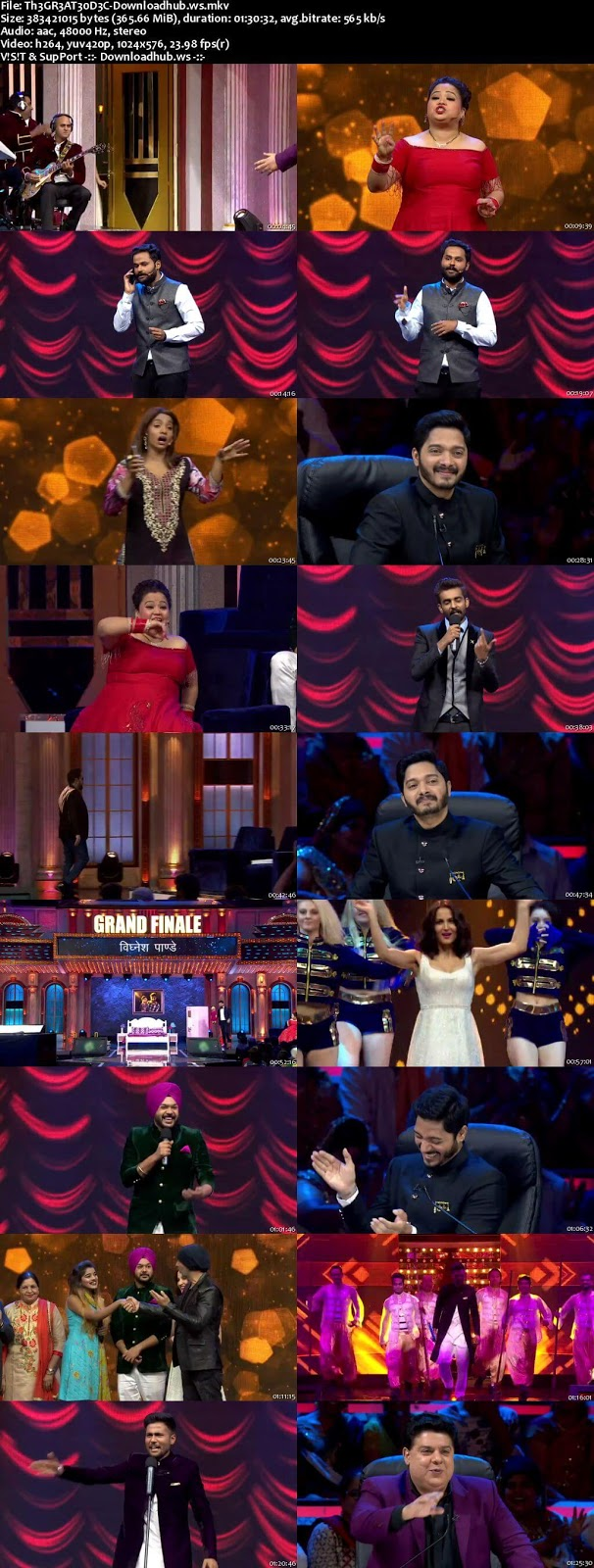The Great Indian Laughter Challenge 30 December 2017 Finale Episode