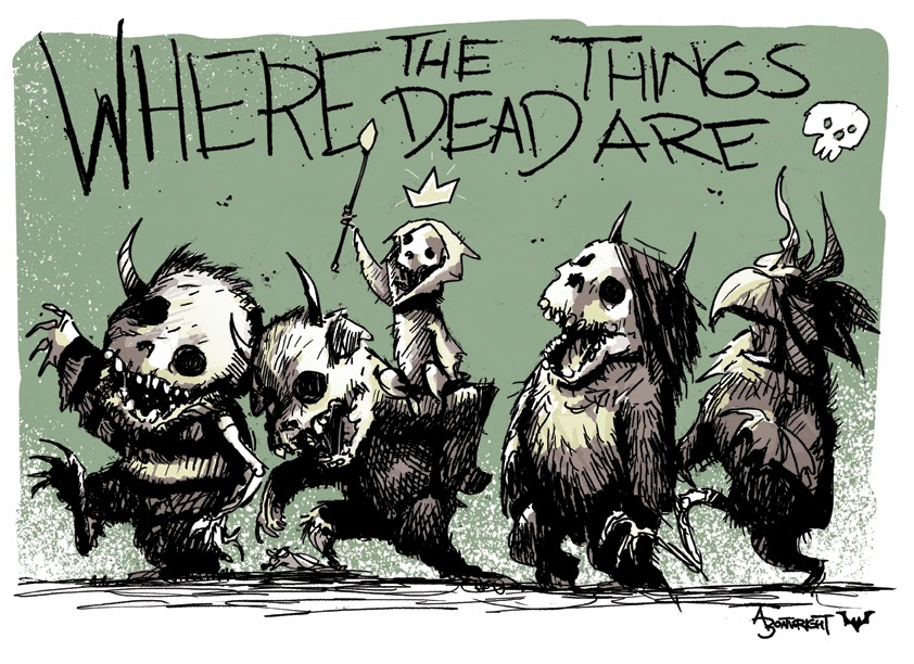 http://society6.com/boatwrightartwork/Where-The-Dead-Things-Are_Print#1=45