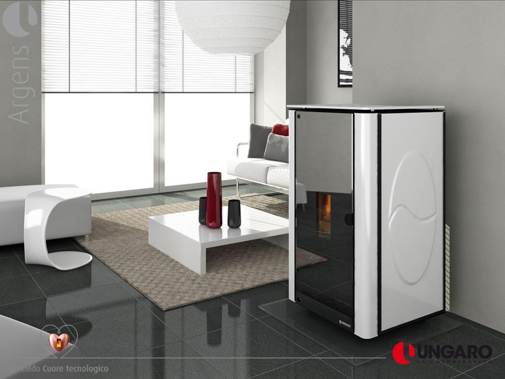 decorfogostore salamandras a pellets water line. Black Bedroom Furniture Sets. Home Design Ideas