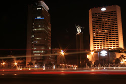 HOTEL INDONESIA IN NIGHT =)