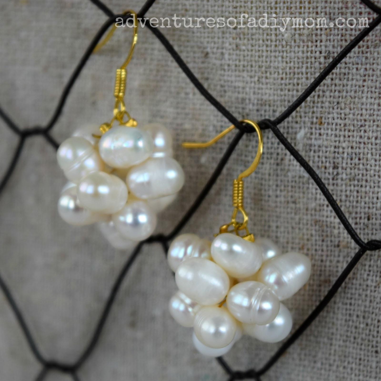 diy cluster earrings – craftbnb