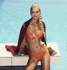 Carmen Kass bikini