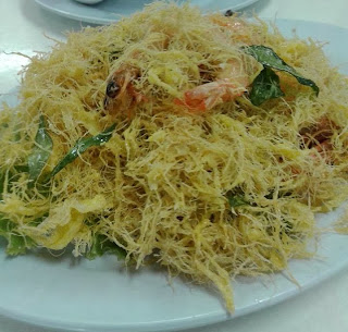 butter prawn sarang burung, lynn munir blog, sedap, lebih butter, spicy, butter prawn taik minyak, next week.