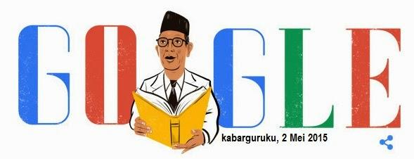 Wow, Google Doodle Merayakan Hardiknas dan Ultah Ki Hajar Dewantara