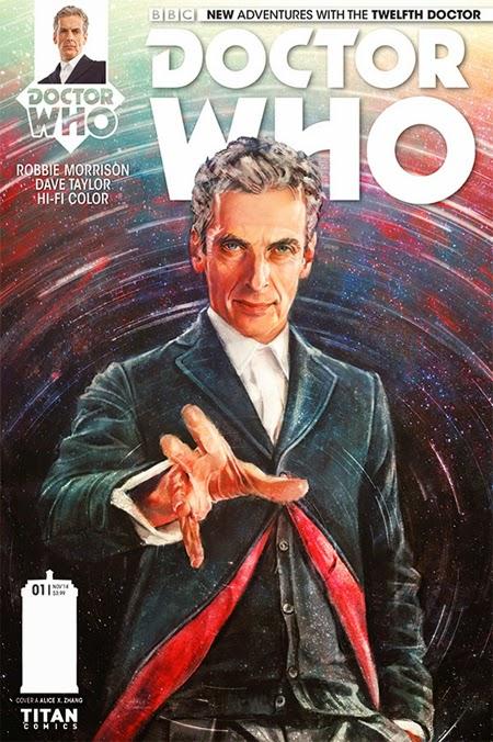 Il dodicesimo Dottor Who a fumetti
