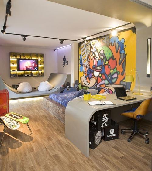 Decoracion de interiores y mas habitaciones juveniles for Decoracion interior habitacion