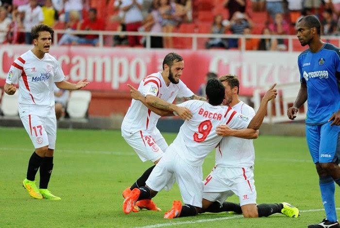 Crónica Sevilla FC 2 Vs Getafe CF 0