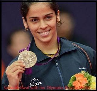 Saina Nehwal Bronze Medal Olympics 2012