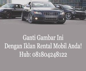 Iklan Rental Mobil