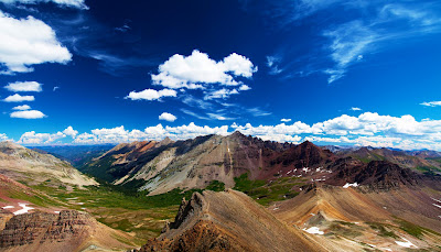 Triangle Pass, Colorado, USA