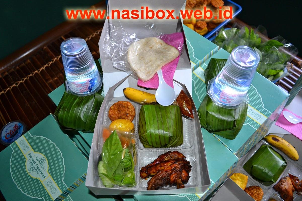 Nasi box pesanan