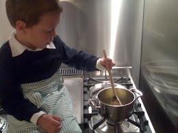 Il piccolo Giac ai fornelli