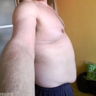 Pilvas po svorio metimo
