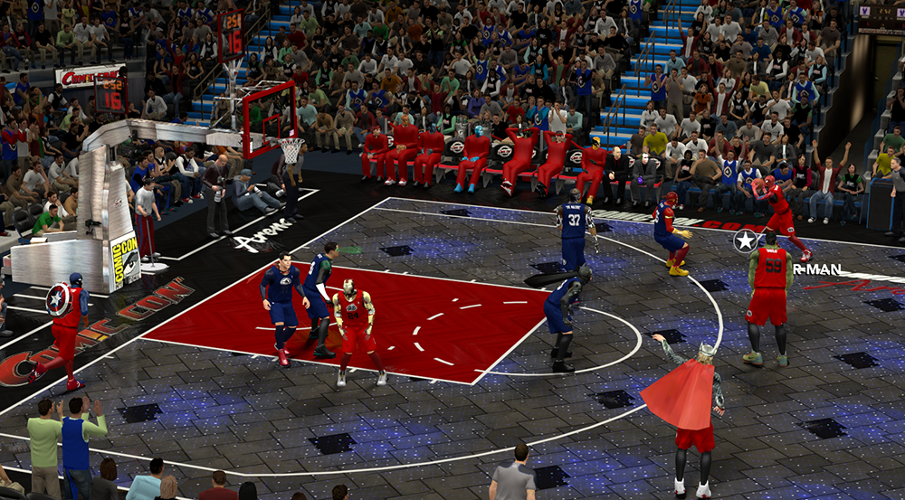 NBA 2K14 Justice League vs. The Avengers