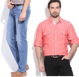 Minimum 70% Off on Premium Brand Men's Clothing@ Flipkart (Valid on Flipkart App) Limited Period Offer
