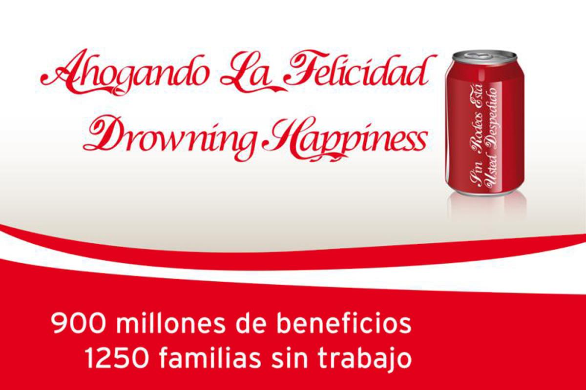 Si hay ERE, no bebas Coca-Cola