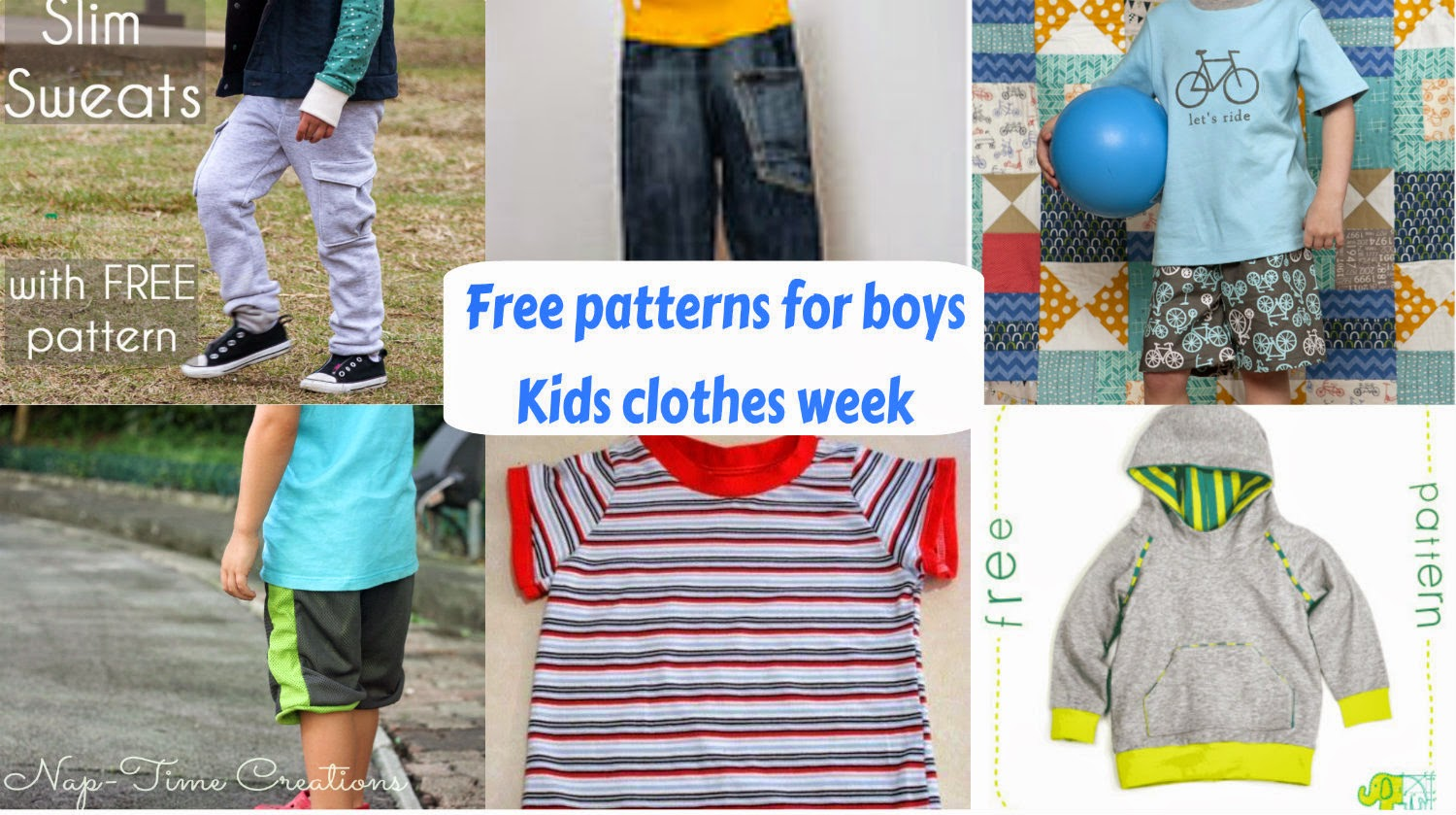 Seemesew free patterns for kids clothes week in honor of this week here are 6 new free boy patterns for you to sew up for your boys jeuxipadfo Images