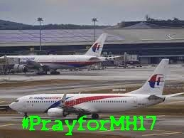 Pray for MH17 Malaysia airline