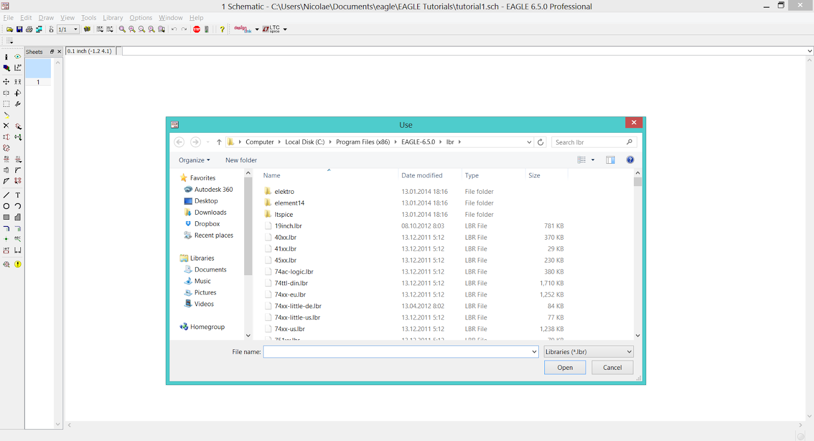 teknoow: EAGLE CAD - Libraries