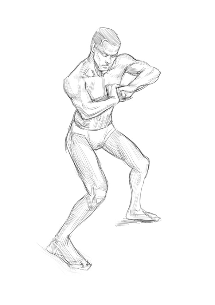 """Spartan Camp #311 - 50 gestures + Optional """"Summer Clothing Study"""""""