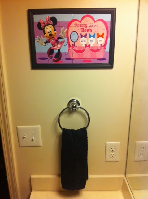 A Squared Craft Affairs: Ashley - Minnie mouse wall art