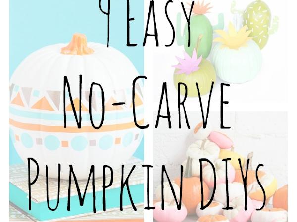 9 Easy No-Carve Pumpkin DIYs