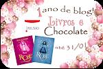 Sorteio no Livros e Chocolate em parceria com a Ed. Prumo ate 31/01