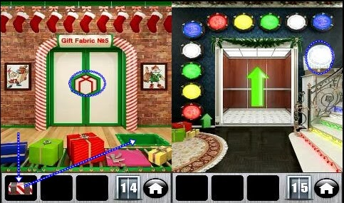 100 Doors 2013 Christmas Level 13 14 15 16 Explanation