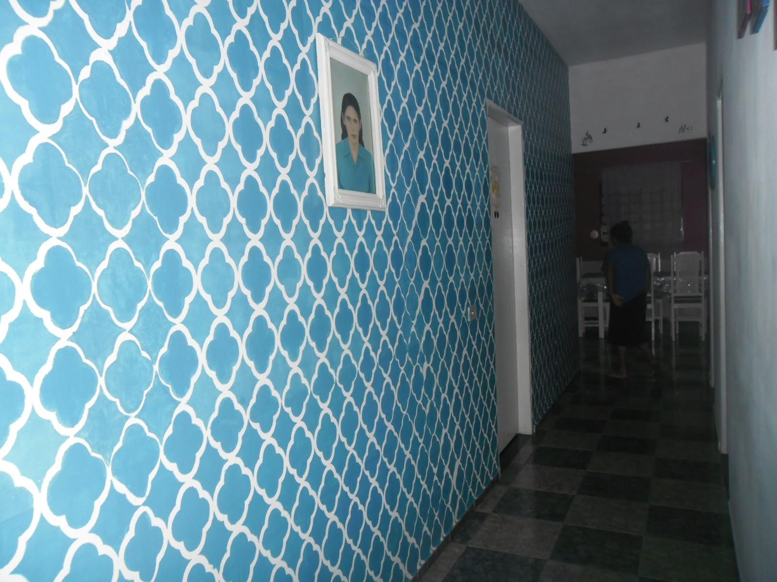 V mo l em casa decorando as paredes for Papel de pared para pintar
