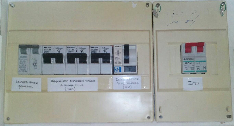 Mi cuaderno de tecnolog a cuadro el ctrico de mando y control for Cuadro electrico componentes