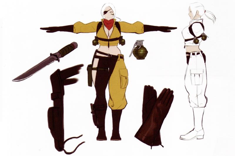 Nina Rolento Alternate Costume