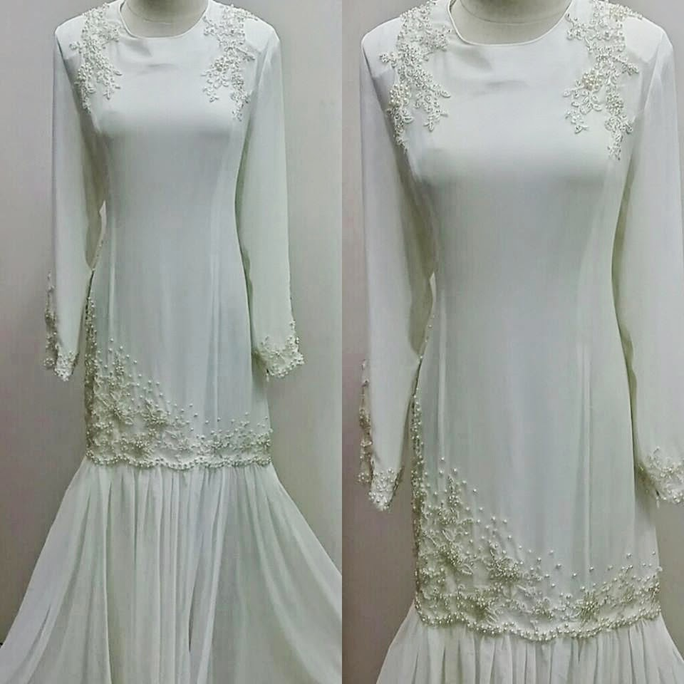 baju nikah terkini 2014 online murah malaysia