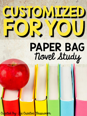 Customized Paper Bag Novel Study
