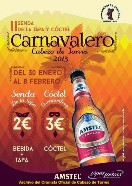 Comienza la II Senda de la Tapa y Cóctel Carnavalero en el Cabezo de Torres