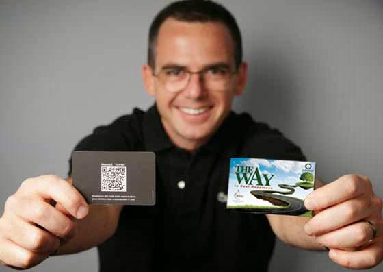 QR dawah cards