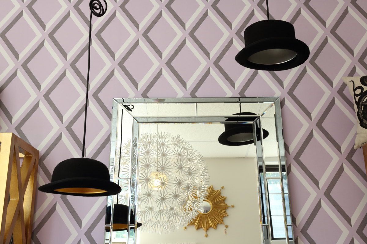 add an element of quirk with hat pendant lights title=
