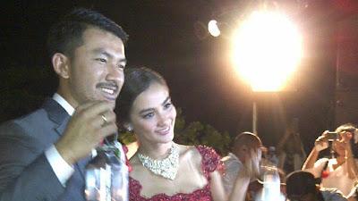 Pernikahan Rio Dewanto dan Atikah Hasiholan