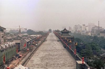 Tembok kota Xi'an